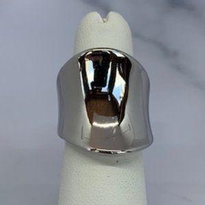 RS Covenant Rhodium Plated Designer Ring